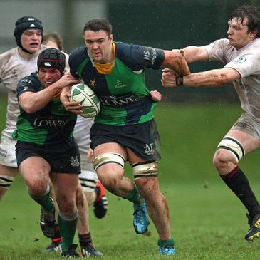 Ballynahinch second row James Simpson