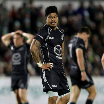 James So'oialo has been released from his Connacht contract