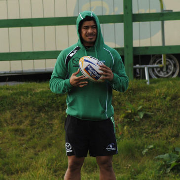 Connacht's latest arrival James So'oialo
