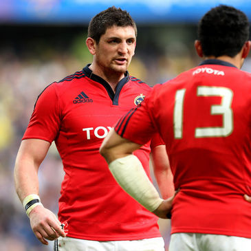 Munster centre James Downey
