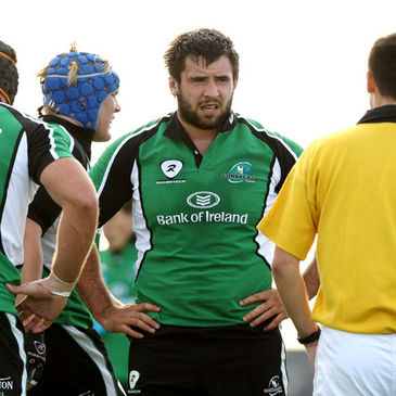 Connacht prop Jamie Hagan