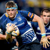 Fresh from captaining Leinster to a narrow win in Treviso, Jamie Heaslip made some strong carries against the Scotsmen