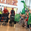 There were plenty of Ireland fans, both young and old, present at Dublin Airport to greet the likes of Jamie Heaslip and Simon Zebo