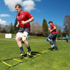 Forwards Jamie Heaslip and Donncha O'Callaghan work their way through a training exercise in sunny Rotorua