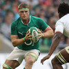 Jamie Heaslip broke off the back of a strong Irish scrum, near the 22-metre line, to spearhead an attack from deep