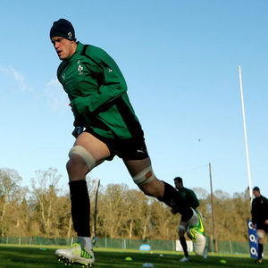 Ireland Squad Training Session At Carton House, Maynooth, Wednesday, February 6, 2013