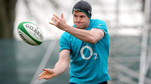 Ireland Squad Training Session At Carton House, Maynooth, Tuesday, February 18, 2014