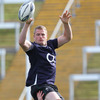 Number 8 Jamie Heaslip, recently named the Leinster Player of the Year, is primed for a big effort against New Zealand