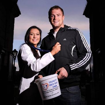 Jamie Heaslip is supporting Trinity Med Day
