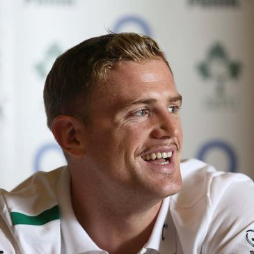 Newly-appointed Ireland captain Jamie Heaslip