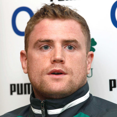 Jamie Heaslip at today's pre-match press conference