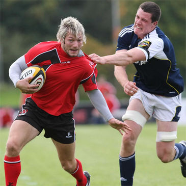 Jamie Smith in action for the Ulster Ravens