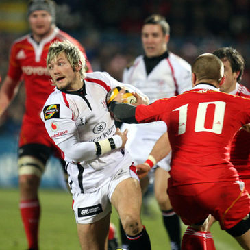Jamie Smith in Magners League action for Ulster