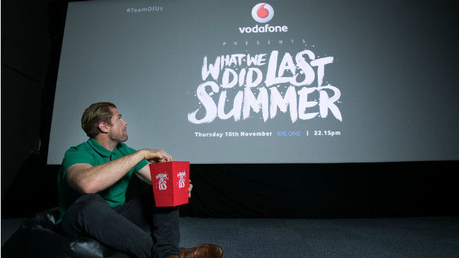 "Vodafone Launches ""Irish Rugby: What We Did Last Summer"""