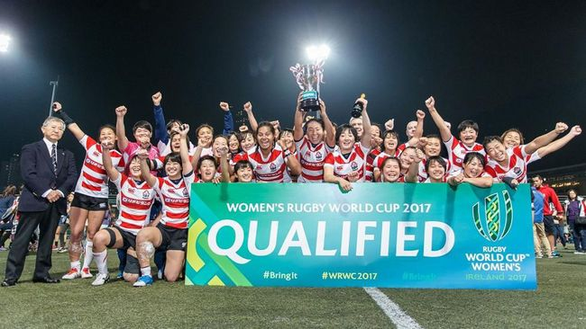 Japan Join Ireland In Women's Rugby World Cup Pool C