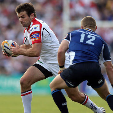 Ulster's Jared Payne in action against Leinster