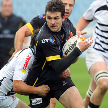Ulster's Jared Payne in action against Zebre
