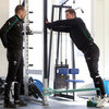 Strength and conditioning coach Jason Cowman, pictured with Brian O'Driscoll, told Irish Rugby TV that the next couple of days are about 'renewal' as the squad prepares for a tough encounter with England