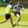 The 22-year-old Jason Harris-Wright, who will be on the bench tomorrow, is the second youngest member of Leinster's matchday squad