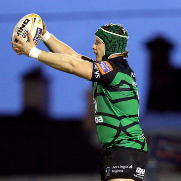 Connacht hooker Jason Harris-Wright