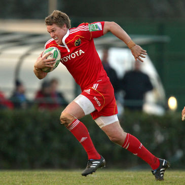 Jean de Villiers in action for Munster