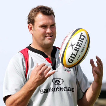 Ulster forwards coach Jeremy Davidson