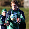 Jerry Flannery back in training in the Ireland Camp