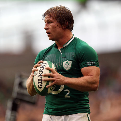 Jerry Flannery's last outing for Ireland was during the 2011 World Cup