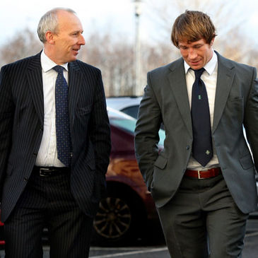 Jerry Flannery with solicitor Pat Barriscale