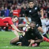 Disaster struck for Munster, four minutes from the finish, when winger Joe Rokocoko got over for New Zealand's clinching try