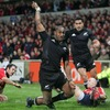 New Zealand wide man Joe Rokocoko showed his deadly finishing skills to dash Munster's hopes of a shock win