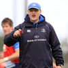 Leinster head coach Joe Schmidt organises things at training with his side chasing a unique league and cup double