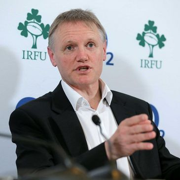 New Ireland head coach Joe Schmidt