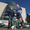Leinster's Joe Schmidt and Leo Cullen will hope to get the province's title defence off to a winning start away to Montpellier next week
