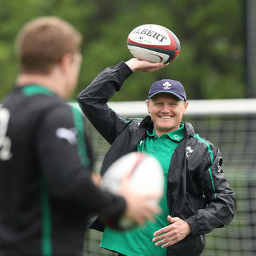 Tickets for Joe Schmidt's first games in charge of Ireland are on sale now
