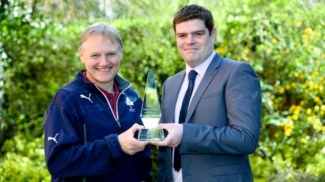 Joe Schmidt Named Philips Manager Of The Month