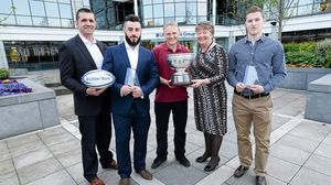 2014 Ulster Bank League Awards, Ulster Bank Headquarters, Dublin, Thursday, April 24, 2014