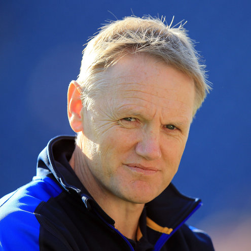 Leinster head coach Joe Schmidt