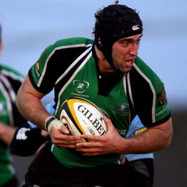 John Muldoon in action for Connacht