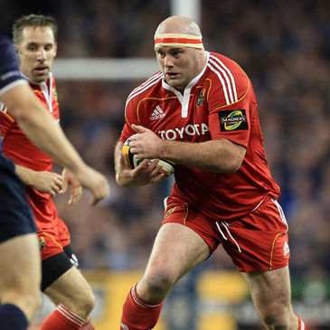 Munster and Ireland prop John Hayes