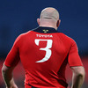 John Hayes has been a cornerstone of the Munster pack for many years and he will become the Heineken Cup's most-capped player (87 caps) next weekend