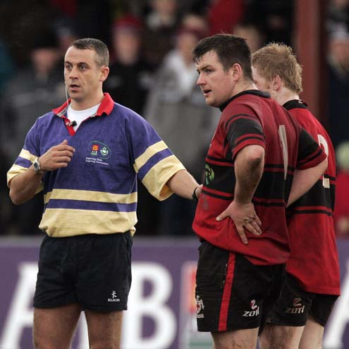 John Lacey will make his Heineken Cup refereeing bow