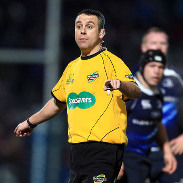 IRFU international referee John Lacey