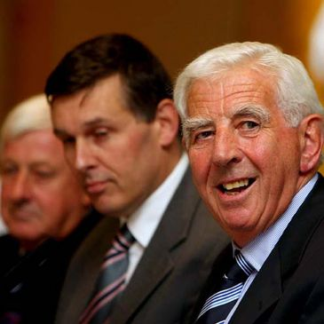 John Lyons is pictured at the IRFU's annual Council Meeting