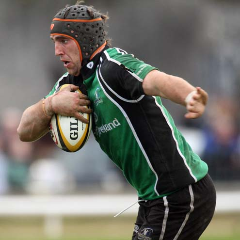 Connacht's new captain John Muldoon