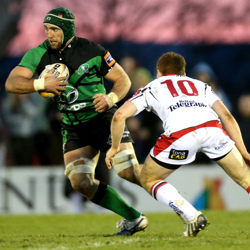 John Muldoon in possession for Connacht