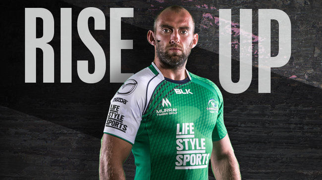 New Connacht Home Jersey Is Unveiled