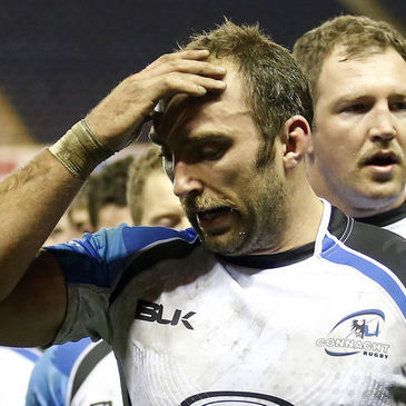 Connacht back rower John Muldoon