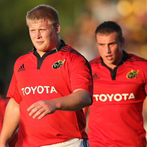 Munster's John Ryan and Tommy O'Donnell