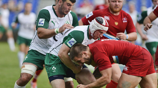 Johne Murphy will captain Emerging Ireland against Uruguay